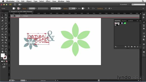 Creating a varnish: Print Production Essentials: Spot Colors and Varnish