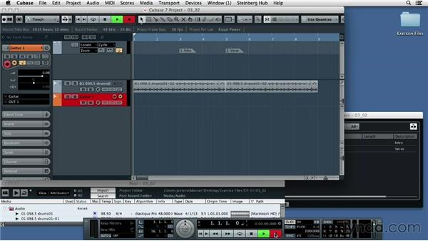 Recording your guitar: Up and Running with Cubase 7