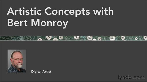 Farewell: Artistic Concepts with Bert Monroy