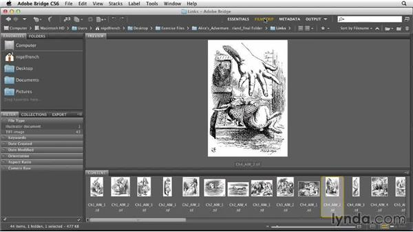 An overview of working with images: Designing a Book
