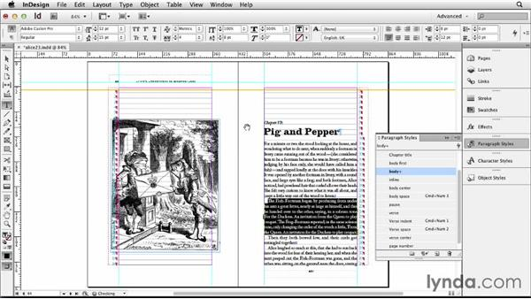 Fixing widows and orphans: Designing a Book