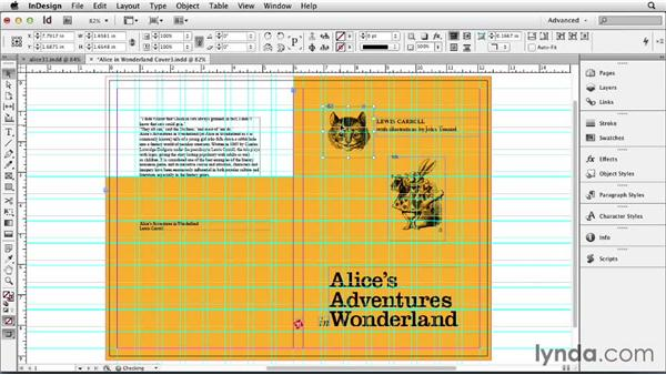 Designing the front cover: Designing a Book