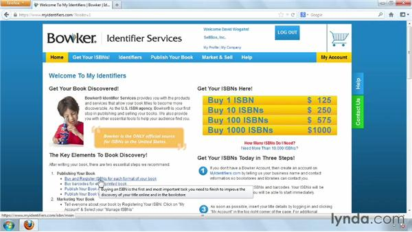 ISBN requirements for ebooks: Distributing and Marketing Ebooks