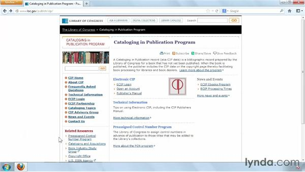 Cataloging in print: Distributing and Marketing Ebooks