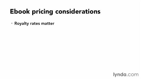 The art of pricing ebooks: Distributing and Marketing Ebooks