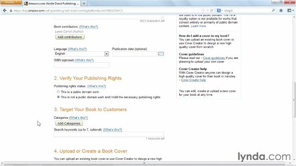 Using Kindle Direct Publishing (KDP) from Amazon: Distributing and Marketing Ebooks
