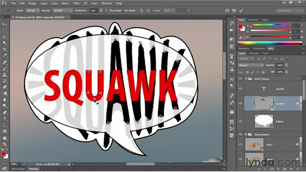 226 Animating text by onion skinning in Photoshop: Deke's Techniques