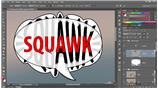 Image for 226 Animating text by onion skinning in Photoshop