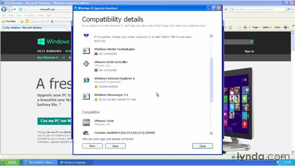 Upgrading with the Windows 8 Upgrade Assistant: Migrating from Windows XP to Windows 8