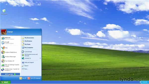 Preparing to install Windows 8 on a new partition: Migrating from Windows XP to Windows 8