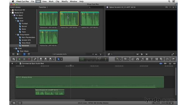 Welcome: Commercial Editing Techniques with Final Cut Pro X v10.0.9