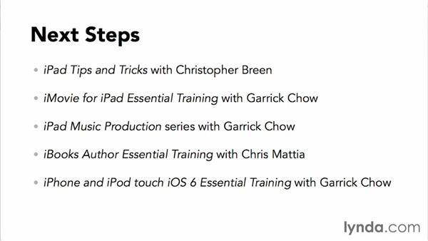 Next steps: iPad Classroom Fundamentals