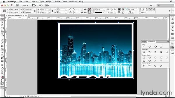 093 Creating custom frames: InDesign FX