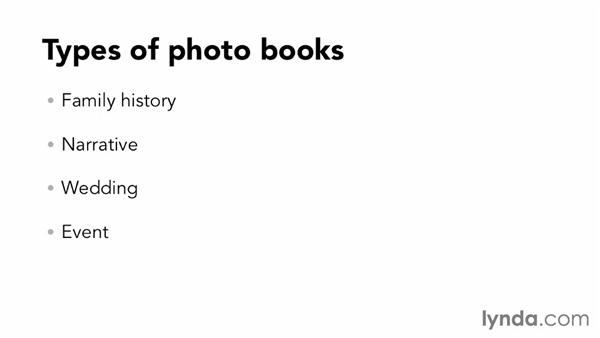 Types of photo books: Designing a Photo Book
