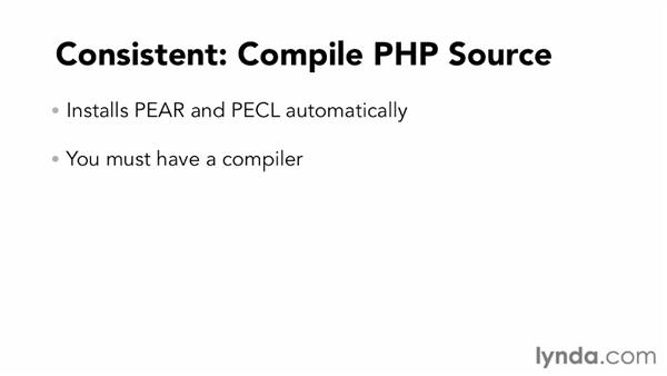 Choosing an installation process: Up and Running with PHP: PEAR, PECL, and Composer