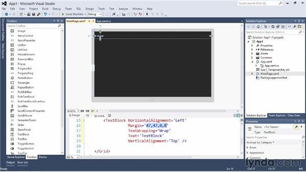 Creating a Windows Store application: Visual Studio 2012 Essential Training