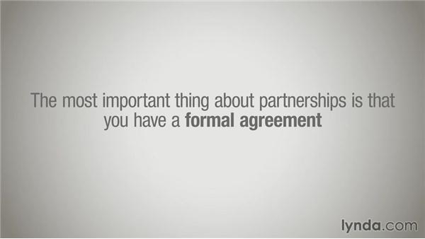 Creating partnerships: Running a Design Business: Starting Small
