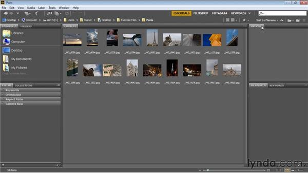 Bridge overview: Bridge CC for Photographers