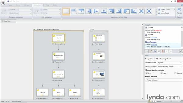 Touring the Articulate Storyline interface: Up and Running with Articulate Storyline