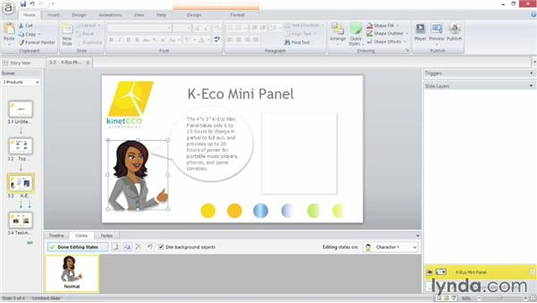 Working with states: Up and Running with Articulate Storyline