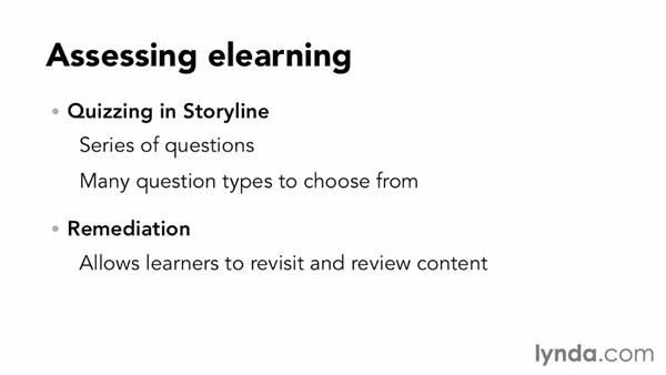 Elearning assessment basics: Up and Running with Articulate Storyline