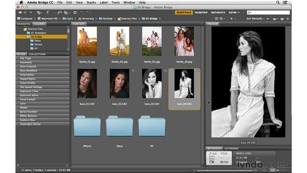 Viewing your images at full screen and as a slideshow: Photoshop CC for Photographers: Fundamentals