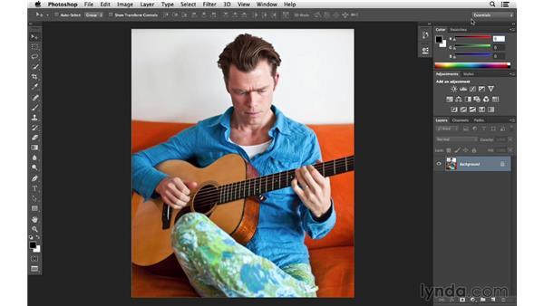 Customizing the interface panels: Photoshop CC for Photographers: Fundamentals