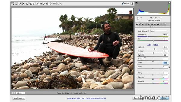 Improving your images with the Basic controls: Photoshop CC for Photographers: Fundamentals