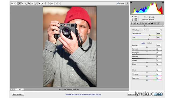 Correcting color and white balance: Photoshop CC for Photographers: Fundamentals