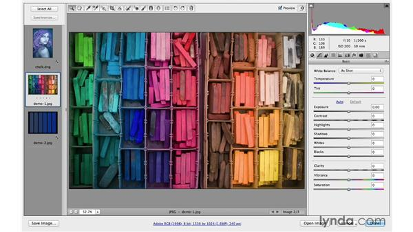Creating vivid, saturated colors: Photoshop CC for Photographers: Fundamentals