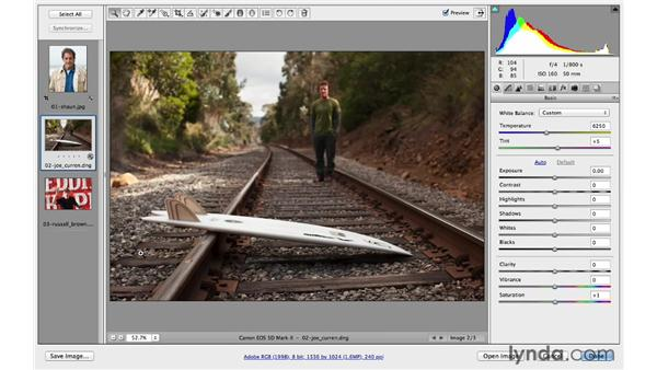 Cropping and straightening your photos: Photoshop CC for Photographers: Fundamentals