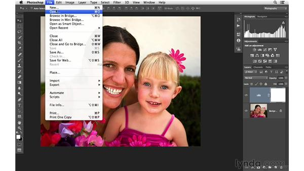 Becoming familiar with the Photoshop interface: Photoshop CC for Photographers: Fundamentals