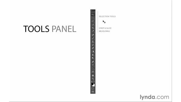 Introducing the Tools panel: Photoshop CC for Photographers: Fundamentals
