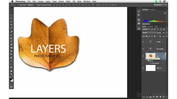 Applying layer style effects: Photoshop CC for Photographers: Fundamentals