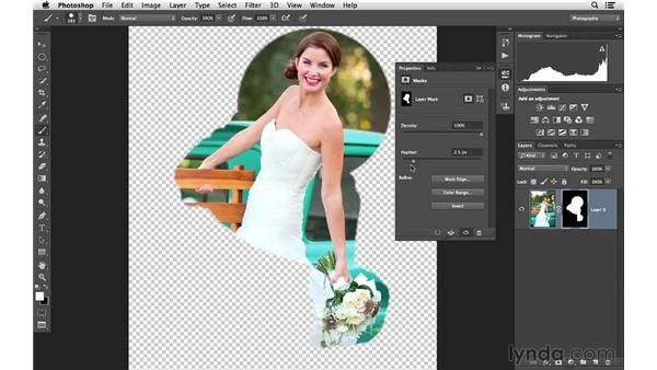 Building and editing a mask: Photoshop CC for Photographers: Fundamentals