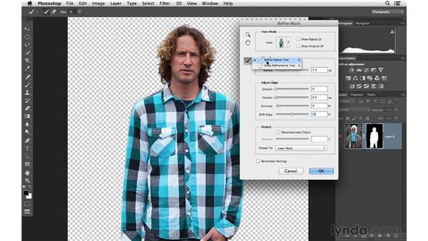 Removing a person from the background with masking: Photoshop CC for Photographers: Fundamentals