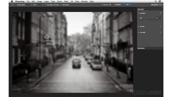 Changing focus with the Blur Gallery: Photoshop CC for Photographers: Fundamentals