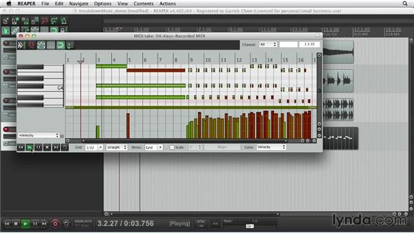 Recording MIDI: Up and Running with REAPER 4