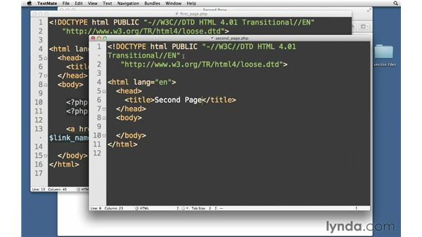 Using GET values: PHP with MySQL Essential Training