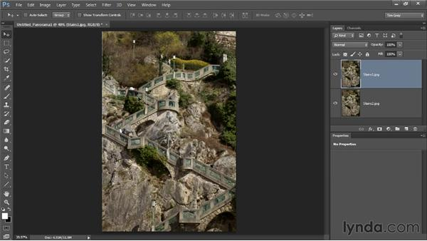 Using multiple exposures to remove people: Photoshop CC Image Cleanup Workshop