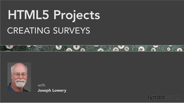 Next steps: HTML5 Projects: Creating Surveys