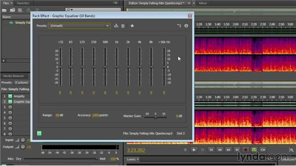 Understanding the power of the Preview Editor: Audition CC Essential Training