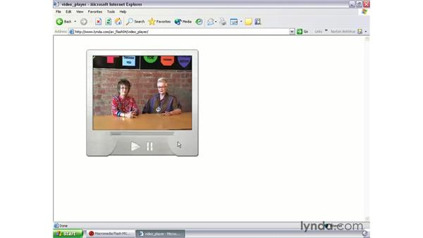 video player introduction: Flash MX 2004 Audio & Video Integration