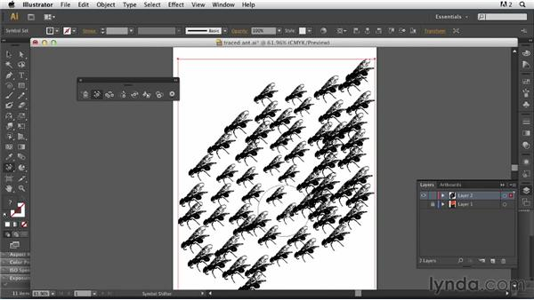 Making an Illustrator symbol: Photoshop for Designers: Working with Illustrator