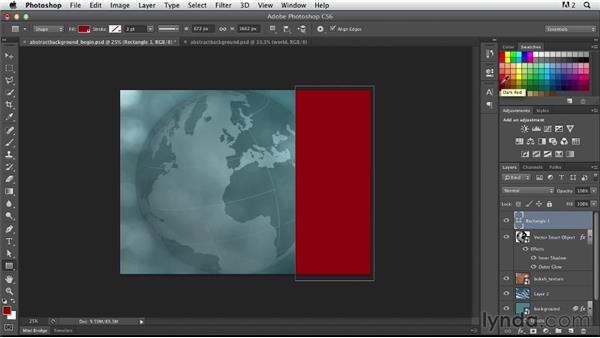 Finalizing the layers: Photoshop for Designers: Working with Illustrator
