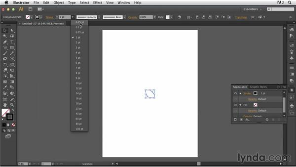Combining abstract transformations with a photographic illustration: Photoshop for Designers: Working with Illustrator