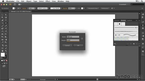 Creating a grunge frame: Photoshop for Designers: Working with Illustrator