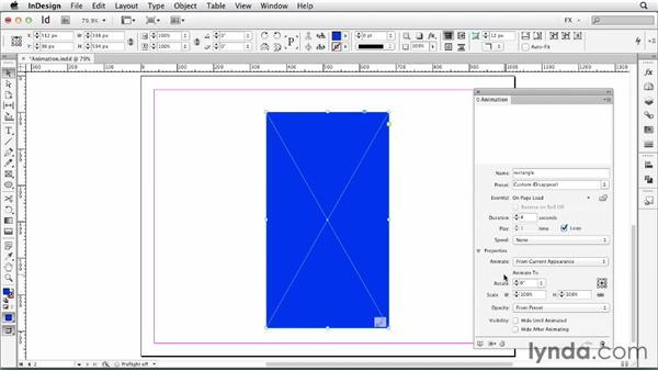 095 Revolving an item around an object: InDesign FX