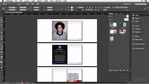 Inserting, deleting, and moving pages: InDesign CC Essential Training (2013)