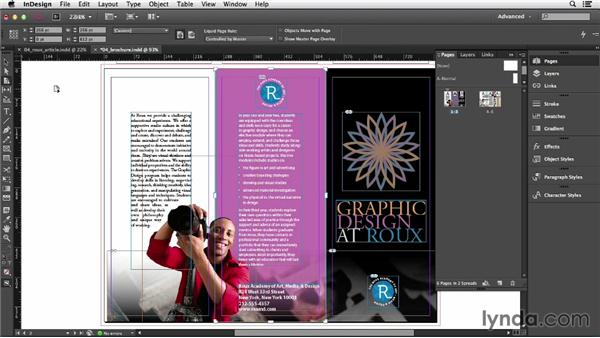 Changing page size: InDesign CC Essential Training (2013)
